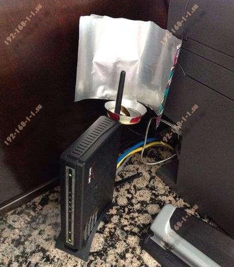 самодельный усилитель wifi сигнала для роутера
